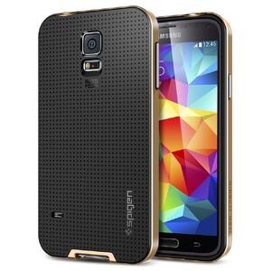 Чехол Spigen SGP Neo Hybrid Copper Gold для Samsung Galaxy S5