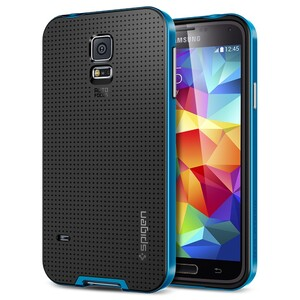 Купить Чехол Spigen SGP Neo Hybrid Electric Blue OEM для Samsung Galaxy S5