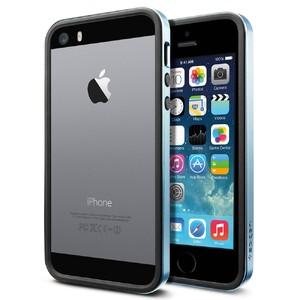 Купить Бампер SGP Neo Hybrid EX Slim Metal Blue OEM для iPhone 5/5S/SE