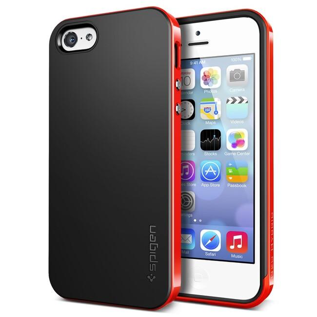 Красный чехол SGP Neo Hybrid для iPhone 5C