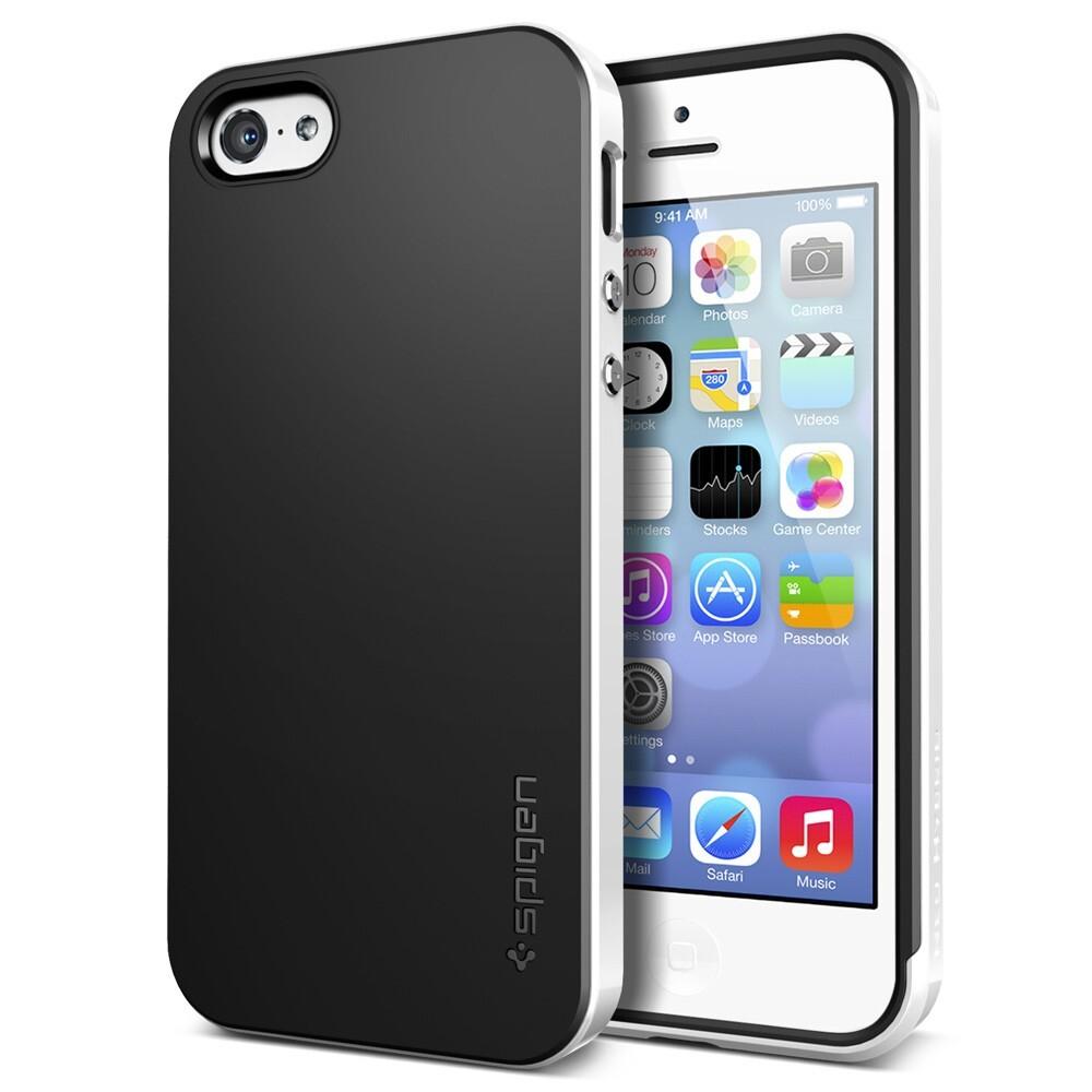 Белый чехол SGP Neo Hybrid для iPhone 5C