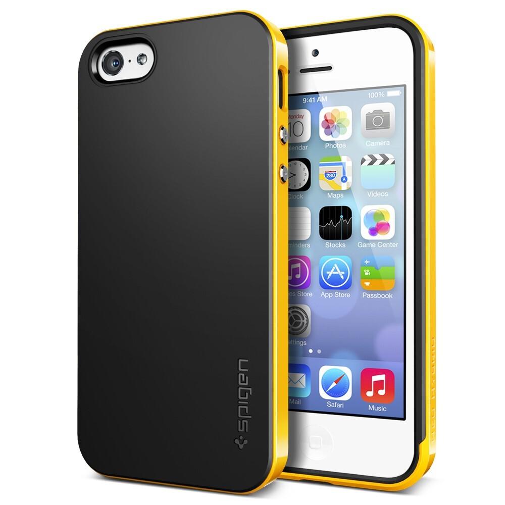 Желтый чехол SGP Neo Hybrid для iPhone 5C
