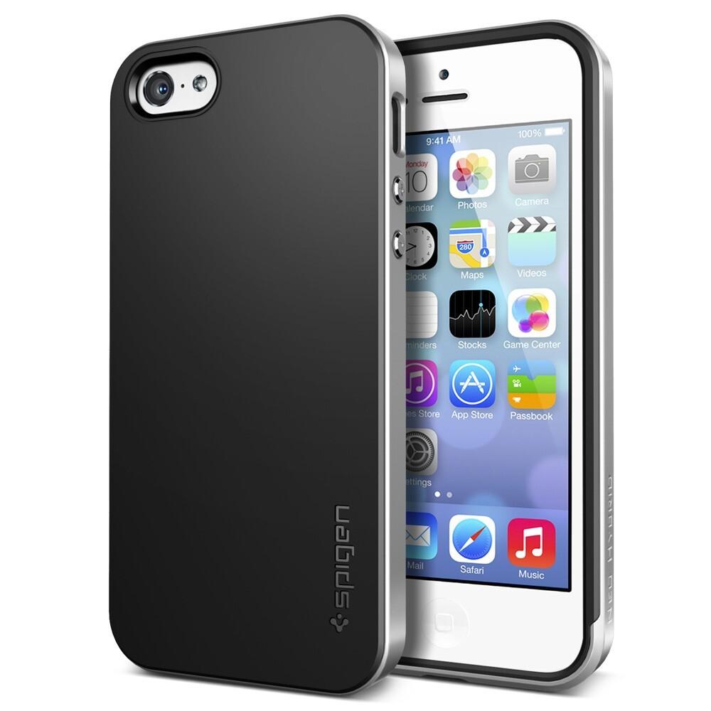 Серый чехол SGP Neo Hybrid для iPhone 5C