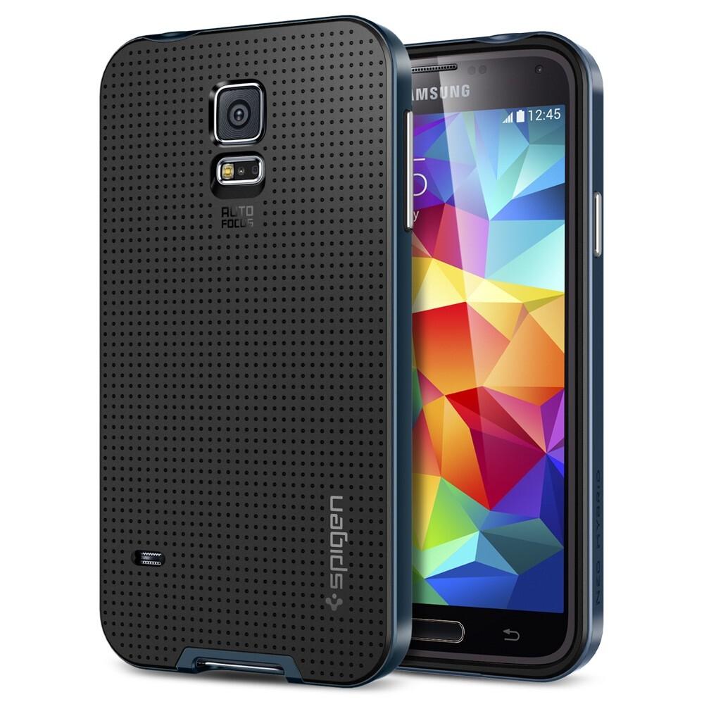 Чехол Spigen SGP Neo Hybrid Metal Slate OEM для Samsung Galaxy S5