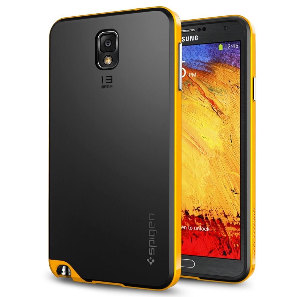 Чехол Spigen SGP Neo Hybrid Reventon Yellow OEM для Samsung Galaxy Note 3