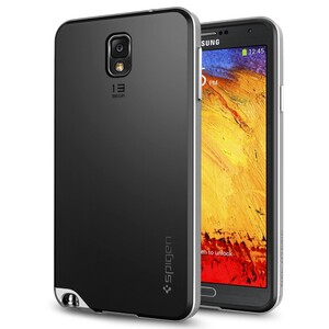 Купить Чехол oneLounge Spigen SGP Neo Hybrid Satin Silver для Samsung Galaxy Note 3 (Лучшая копия)
