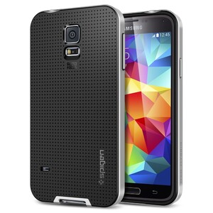 Купить Чехол Spigen SGP Neo Hybrid Satin Silver OEM для Samsung Galaxy S5