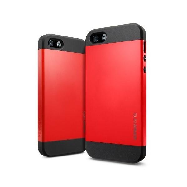 Чехол Spigen SGP Slim Armor Red OEM для iPhone 4/4S