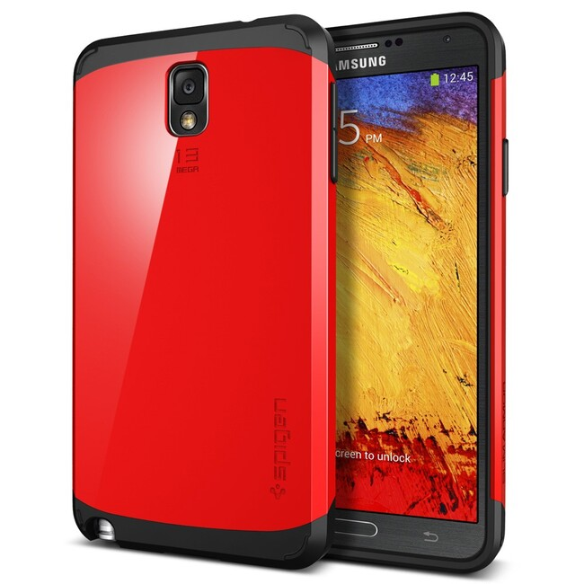 Чехол Spigen SGP Slim Armor Crimson Red OEM для Samsung Galaxy Note 3