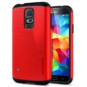 Купить Чехол Spigen SGP Slim Armor Dante Red для Samsung Galaxy S5