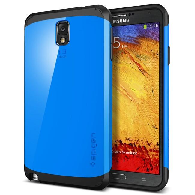 Чехол Spigen SGP Slim Armor Dodger Blue OEM для Samsung Galaxy Note 3
