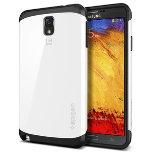 Купить Чехол Spigen SGP Slim Armor Infinity White для Samsung Galaxy Note 3 (Лучшая копия)