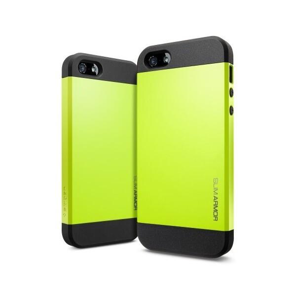 Чехол Spigen SGP Slim Armor Yellow OEM для iPhone 4/4S