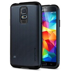 Чехол Spigen SGP Slim Armor Metal Slate для Samsung Galaxy S5