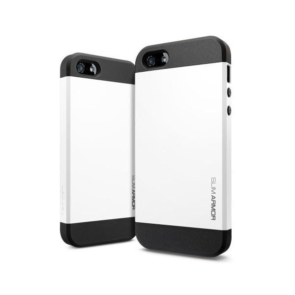 Чехол Spigen SGP Slim Armor White OEM для iPhone 4/4S