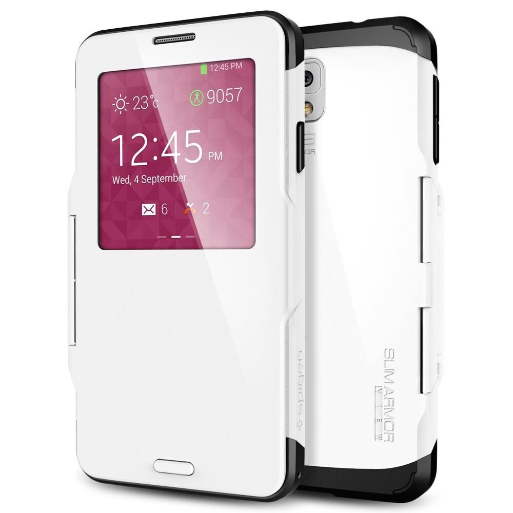 Чехол Spigen SGP Slim Armor View OEM White для Samsung Galaxy Note 3