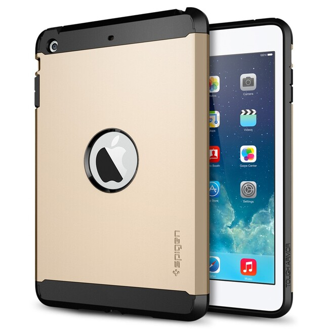 Чехол SGP Tough Armor Champagne Gold для iPad mini 3/mini 2 Retina/mini