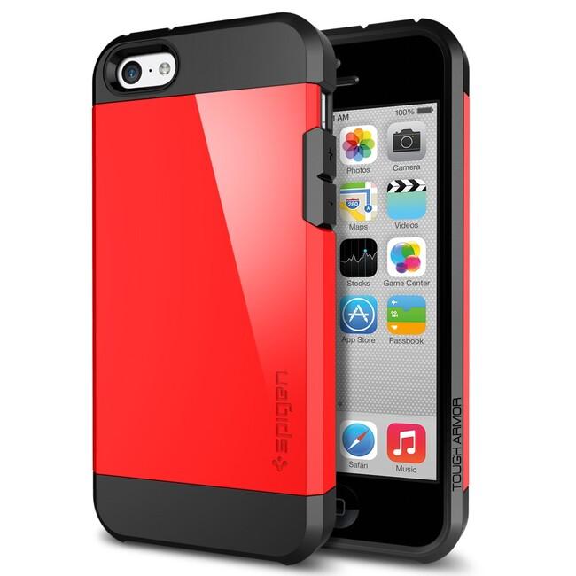 Чехол SGP Tough Armor Crimson Red OEM для iPhone 5C