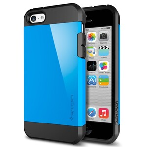 Купить Чехол SGP Tough Armor Dodger Blue OEM для iPhone 5C