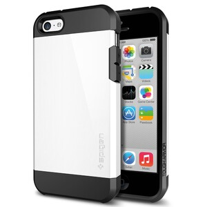 Чехол SGP Tough Armor Infinity White для iPhone 5C