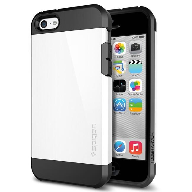 Чехол SGP Tough Armor Infinity White OEM для iPhone 5C