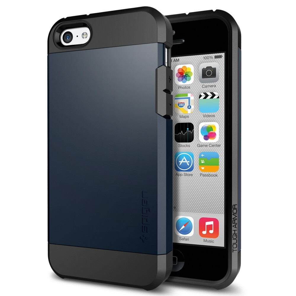 Чехол SGP Tough Armor Metal Slate OEM для iPhone 5C