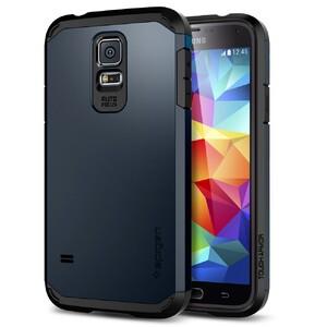 Чехол Spigen SGP Tough Armor Metal Slate для Samsung Galaxy S5