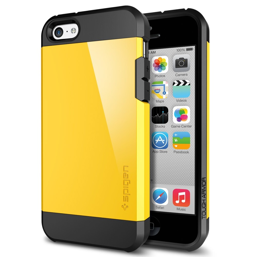 Чехол SGP Tough Armor Reventon Yellow OEM для iPhone 5/5S/SE