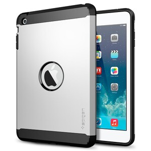 Купить Чехол SGP Tough Armor Satin Silver для iPad mini 3/mini 2 Retina/mini