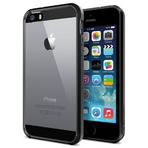 Купить Чехол SGP Ultra Hybrid Black OEM для iPhone 5/5S/SE
