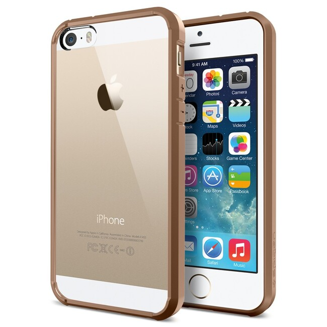 Чехол SGP Ultra Hybrid Brown OEM для iPhone 5/5S/SE