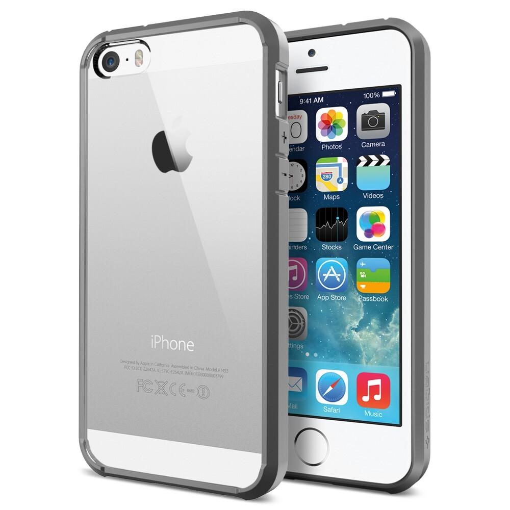 Чехол SGP Ultra Hybrid Gray OEM для iPhone 5/5S/SE