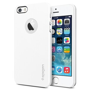 Купить Чехол SGP Ultra Thin Air A White OEM для iPhone 5/5S/SE