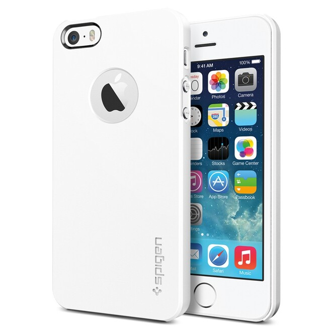 Чехол SGP Ultra Thin Air A White OEM для iPhone 5/5S/SE