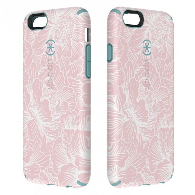 Чехол Speck CandyShell Inked FreshFloral Pink/River Blue для iPhone 6/6s