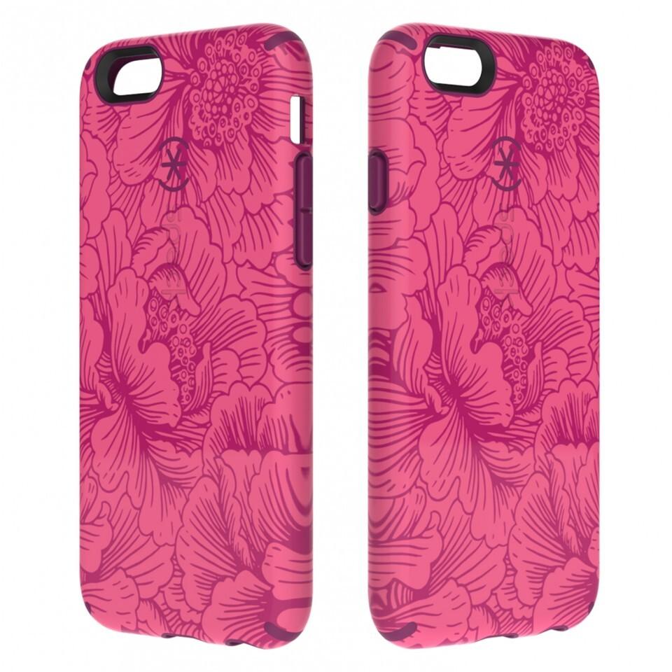 Чехол Speck CandyShell Inked FreshFloral Red/Boysenberry для iPhone 6/6s