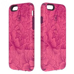 Купить Чехол Speck CandyShell Inked FreshFloral Red/Boysenberry для iPhone 6/6s