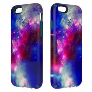 Купить Чехол Speck CandyShell Inked SuperNova Red Pattern/Tahoe Blue для iPhone 6/6s