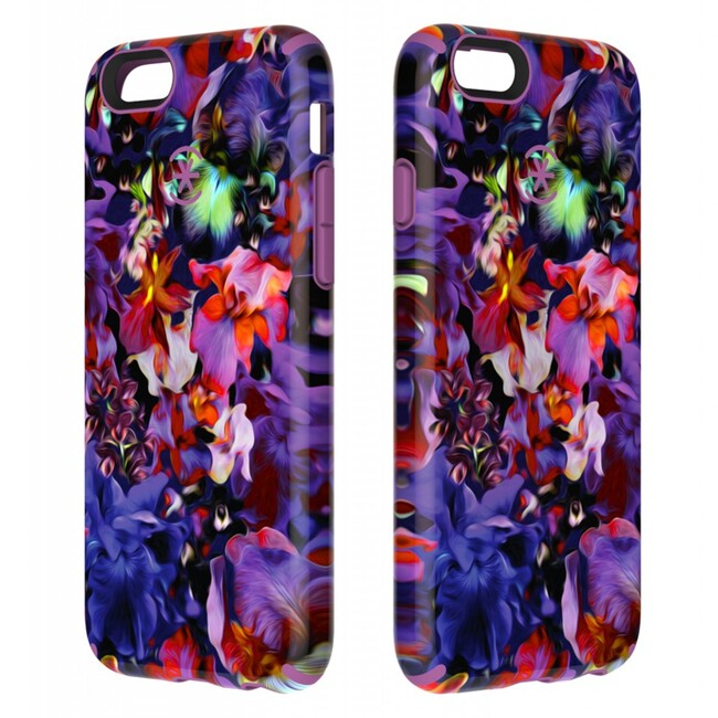Чехол Speck CandyShell Inked Lush Floral/Beaming Orchid для iPhone 6/6s