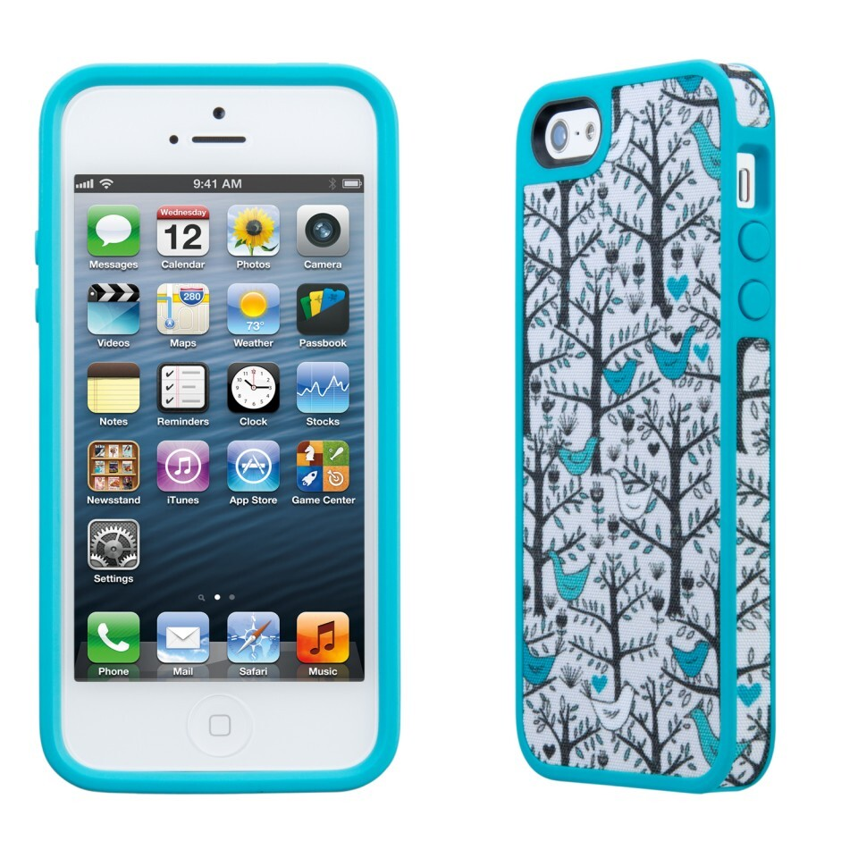 Чехол Speck Fabshell LoveBirds Peacock для iPhone 5/5S/SE