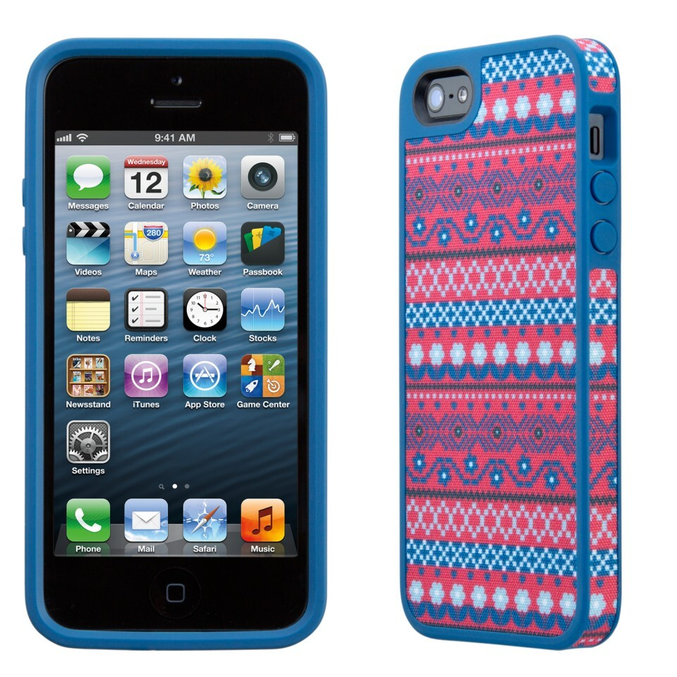Чехол Speck Fabshell DigiTribe Pink/Blue для iPhone 5/5S/SE