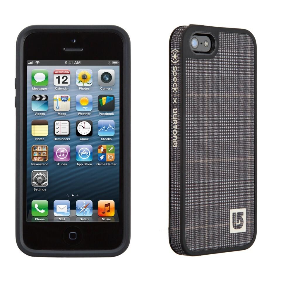 Чехол Speck Fabshell Burton Prince of Wales/Black для iPhone 5/5S/SE