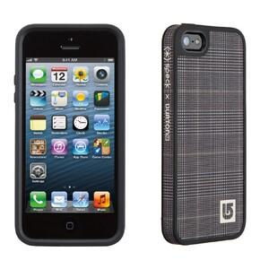 Купить Чехол Speck Fabshell Burton Prince of Wales/Black для iPhone 5/5S/SE