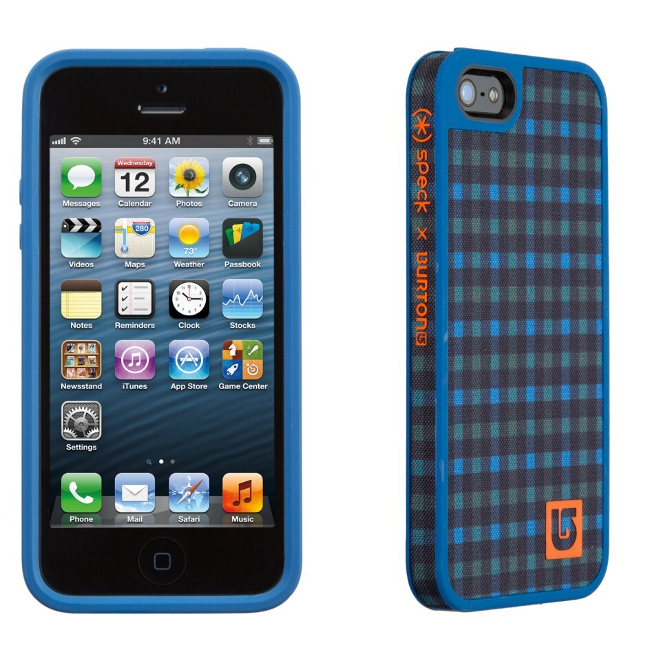 Чехол Speck Fabshell Burton Ballpoint Reid Plaid/Harbor для iPhone 5/5S/SE