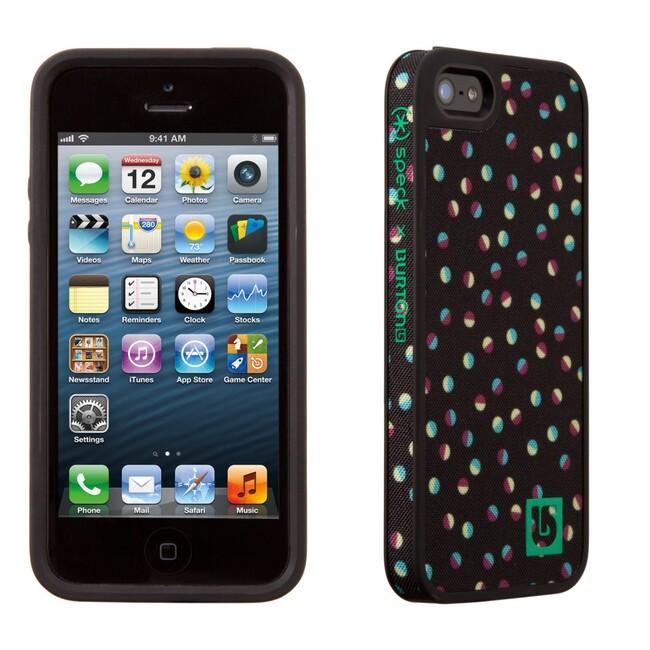 Чехол Speck Fabshell Burton Girls Confetti/Black для iPhone 5/5S/SE