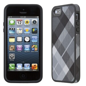 Купить Чехол Speck Fabshell MegaPlaid Black для iPhone 5/5S/SE