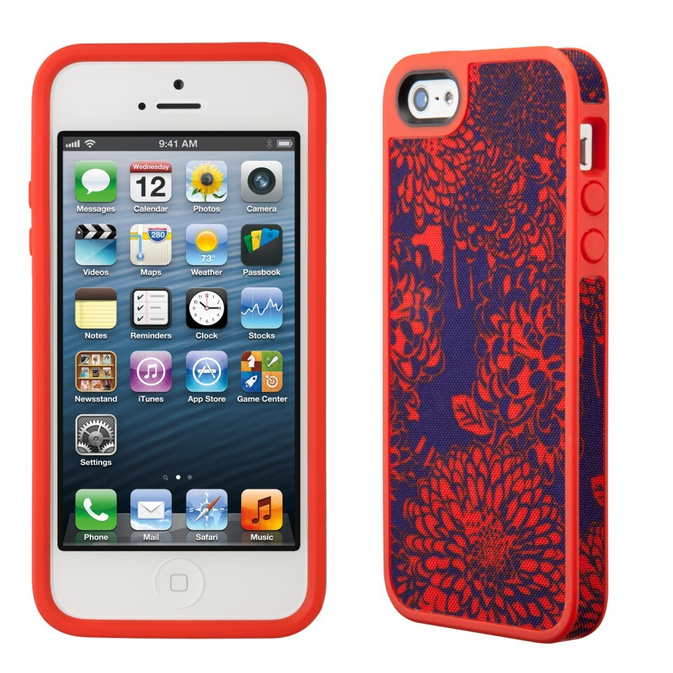 Чехол Speck Fabshell BouquetBurst Red для iPhone 5/5S/SE