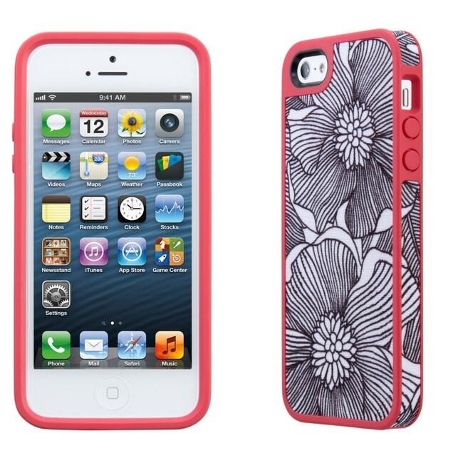 Чехол Speck Fabshell FreshBloom Coral для iPhone 5/5S/SE