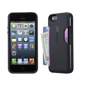 Чехол Speck Smartflex Card Black под кредитные карты/деньги для iPhone 5/5S