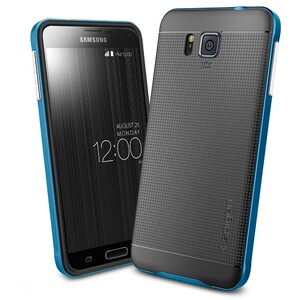 Купить Чехол Spigen Neo Hybrid Electric Blue для Samsung Galaxy Alpha